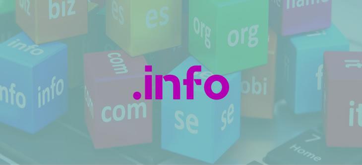 info domain uzantısı
